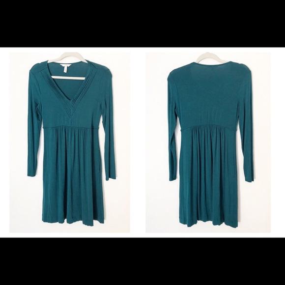 Soma Dresses & Skirts - Teal Soma Soft Long Sleeve Small Dress